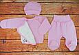 Комплект для новорожденной девочки на выписку Карусель розовый, фото 3