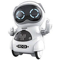 Робот Jiabaile интерактивная игрушка Pocket Robot
