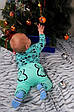 Комплект детский теплый Мышка для девочки на рост 62-68 см., только в красном цвете, фото 2