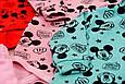 Комплект детский теплый Мышка для девочки на рост 62-68 см., только в красном цвете, фото 3