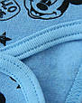 Комплект детский теплый Мышка для девочки на рост 62-68 см., только в красном цвете, фото 4