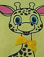 Детский костюмчик для новорожденных Жирафик, размеры от 2 до 9 мес, фото 2
