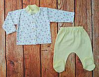 Комплект одежды для новорожденной девочки Лилия