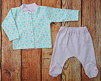 Комплект одежды для новорожденной девочки Роза