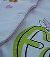 Детский человечек с зайчиком для девочки (интерлок), код 1188, фото 3