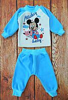 Велюровый костюмчик для мальчика, код 1191