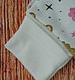 Теплый набор одежды для новорожденной девочки 3 предмета, фото 3