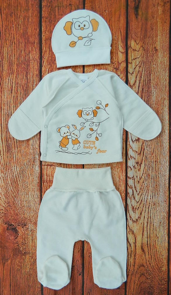 Набор одежды для новорожденного, арт 2519