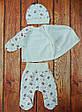 Теплый комплект одежды для новорожденной девочки, код 2523, фото 5