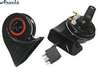 Клаксон звуковой сигнал для автомобиля Tiger TG-H100 улитка
