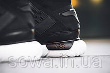 "✔️ Кроссовки Adidas Y-3 Qasa High ""Core Black/White"" , фото 3"