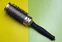 Расчёска круглая для укладки волос. Брашинг керамический EAGLE FORTRESS NANO IONIC CERAMIC 43мм BAN00343B