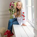 Вышиванка для девочки Маковая роса  от  7 до  13 лет, фото 2