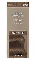 Крем-краска для волос The Saem Silk Hair Color Cream Gold Beige 60 г (8806164153482)