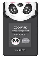 Тканевая маска для лица с экстрактом бамбука The Saem ZOO PARK Water Moisturizing Panda 25 мл (8806164127780)