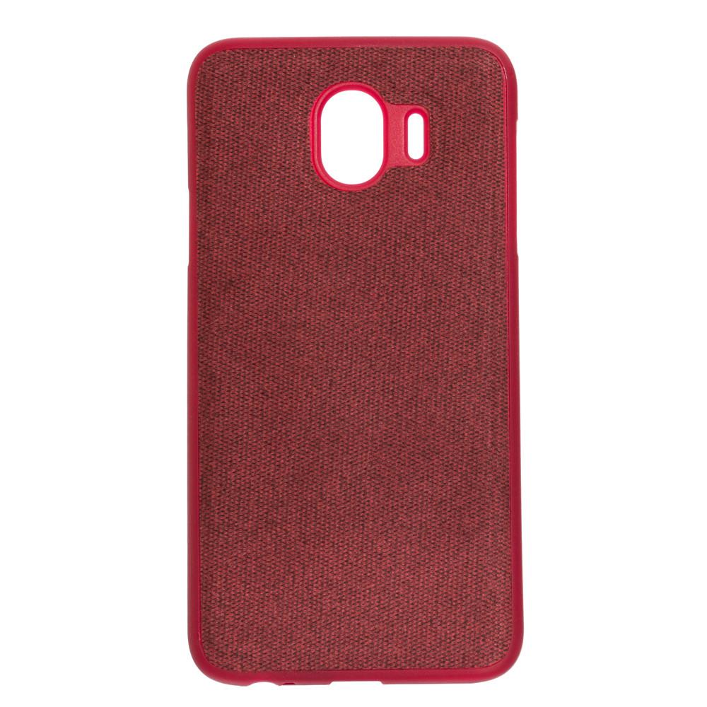 Панель ZBS PC Original Cloth для Samsung J4 2018 Red (21757)