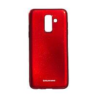 Панель ZBS Molan Shining для Samsung A6 Plus 2018 European Red 05 (21950)