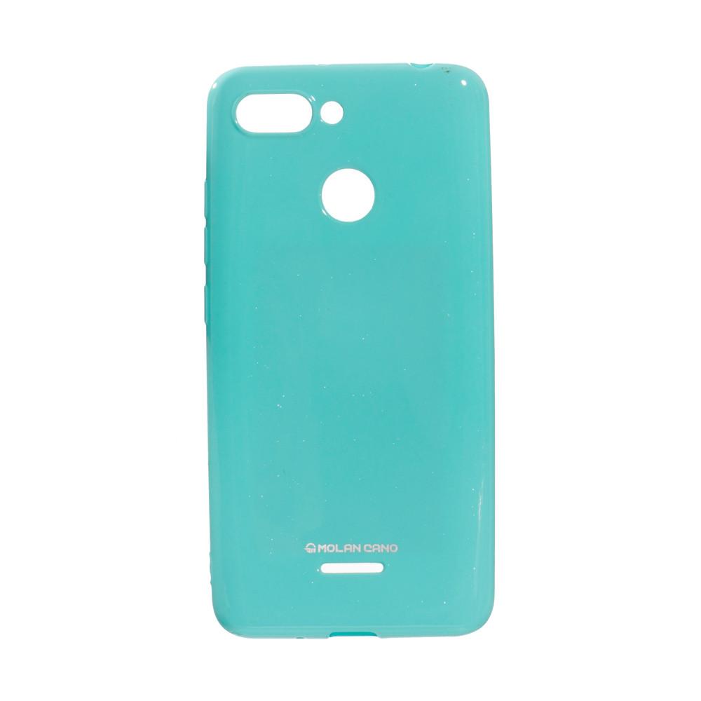 Панель ZBS Molan Shining для Xiaomi Redmi 6 Turquoise 02 (21954)