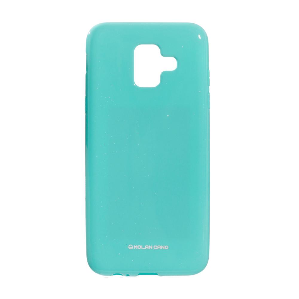 Панель ZBS Molan Shining для Samsung A6 2018 European Turquoise 02 (21949)