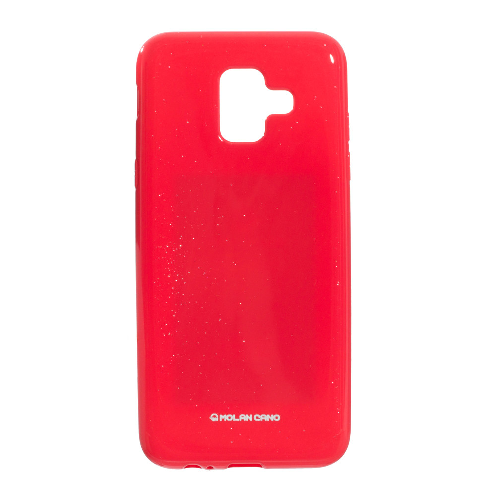 Панель ZBS Molan Shining для Samsung A6 2018 European Light Red 03 (21949)