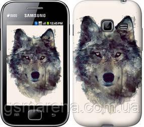 Чехол на Samsung Galaxy Ace Duos S6802 Волк-арт