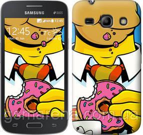 Чехол на Samsung Galaxy Core Plus G3500 Гомер с пончиком