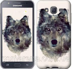 Чехол на Samsung Galaxy J5 (2015) J500H Волк-арт