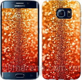 Чехол на Samsung Galaxy S6 Edge G925F Звездная пыль