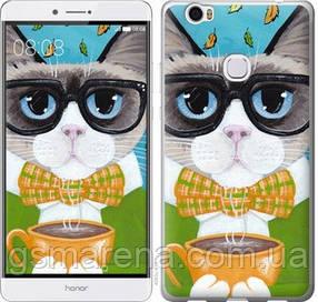 Чехол на Huawei Honor Note 8 Cat&Coffee