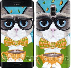 Чехол на Huawei Mate 9 Pro Cat&Coffee