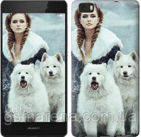 Чехол на Huawei Ascend P8 Lite Winter princess