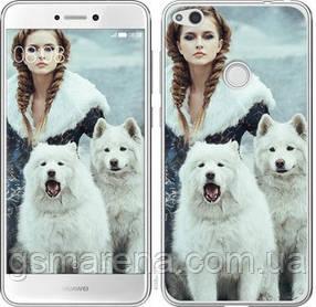 Чехол на Huawei P8 Lite (2017) Winter princess