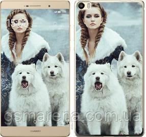 Чехол на Huawei P8 Max Winter princess