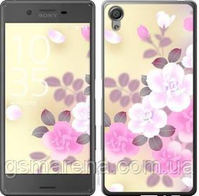 Чехол на Sony Xperia X F5122 Японские цветы