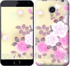 Чехол на Meizu MX4 PRO Японские цветы