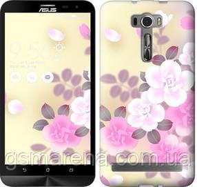 Чехол на Asus ZenFone 2 Laser ZE601KL Японские цветы