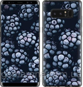 Чехол на Samsung Galaxy Note 8 Морозная ежевика
