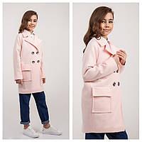 0fede9ae74f Пальто весна на девочку пудра Naila Brilliant (Украина) размеры 140