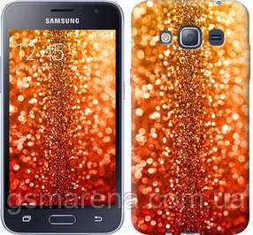 Чехол на Samsung Galaxy J1 (2016) Duos J120H Звездная пыль