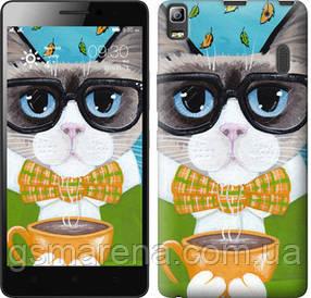 Чехол на Lenovo K3 Note K50-T5 Cat&Coffee