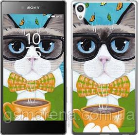 Чехол на Sony Xperia Z5 Premium E6883 Cat&Coffee