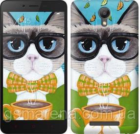 Чехол на Xiaomi Redmi Note 2 Cat&Coffee