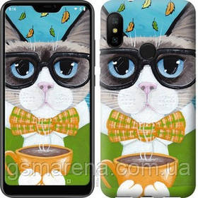 Чехол на Motorola One Cat&Coffee