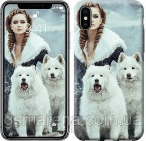 Чехол на iPhone XS Winter princess