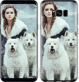 Чехол на Samsung Galaxy S8 Winter princess