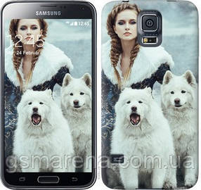Чехол на Samsung Galaxy S5 g900h Winter princess