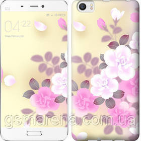 Чехол на Xiaomi Mi5 Японские цветы