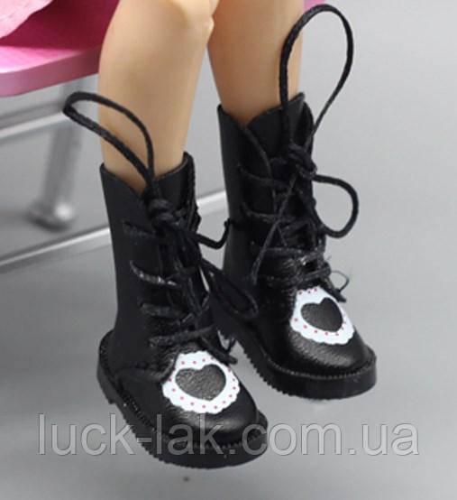 Сапожки для куклы Blythe (Айси), обувь для Блайз с сердечком