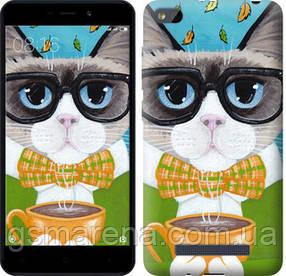 Чехол на Xiaomi RedMi 4A Cat&Coffee