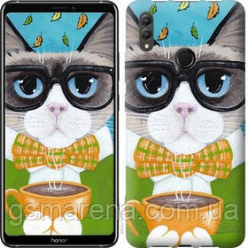 Чехол на Huawei Honor Note 10 Cat&Coffee